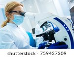 making medical discovery.... | Shutterstock . vector #759427309