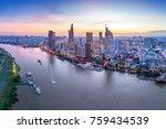 ho chi minh  vietnam   nov 20 ... | Shutterstock . vector #759434539