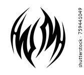tattoo tribal vector designs.  | Shutterstock .eps vector #759441049