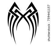 tattoos ideas designs   tribal... | Shutterstock .eps vector #759441157
