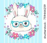 hand drawn vector illustration...   Shutterstock .eps vector #759444259