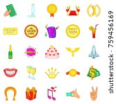 perfect choice icons set....   Shutterstock .eps vector #759456169