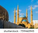 mohammad al amin mosque in... | Shutterstock . vector #759460945