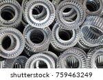 background of many impeller | Shutterstock . vector #759463249
