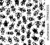 seamless pattern with different ...   Shutterstock .eps vector #759463531