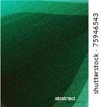 vector leaf texture | Shutterstock .eps vector #75946543