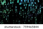 abstract technology background. ... | Shutterstock . vector #759465844