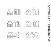house renovation  home... | Shutterstock .eps vector #759481309