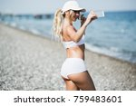 Fitness Selfie Woman Self...