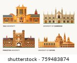 best national universities.... | Shutterstock .eps vector #759483874