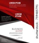 brochure design content... | Shutterstock .eps vector #759485791