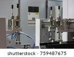 digital label production... | Shutterstock . vector #759487675