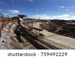 industrial building  foundation ... | Shutterstock . vector #759492229