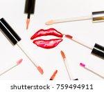 voluminous sparkling painted...   Shutterstock . vector #759494911