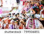 sibiu  romania   winter dolls... | Shutterstock . vector #759506851