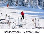 kopaonik  serbia   january 22 ... | Shutterstock . vector #759528469