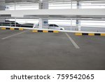 empty new parking interior | Shutterstock . vector #759542065