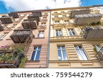 traditional residential houses... | Shutterstock . vector #759544279