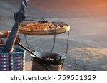local myanmar street food as... | Shutterstock . vector #759551329