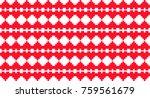 vector pixel seamless love... | Shutterstock .eps vector #759561679