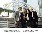 group of business smiling... | Shutterstock . vector #759565279