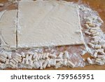 dough for cooking a national... | Shutterstock . vector #759565951