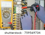 electrical and instrument... | Shutterstock . vector #759569734