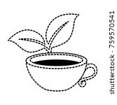 cup with tea leafs | Shutterstock .eps vector #759570541