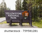 cooke city silver lake  montana ... | Shutterstock . vector #759581281