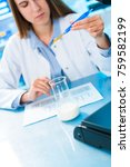 quality control for processed... | Shutterstock . vector #759582199