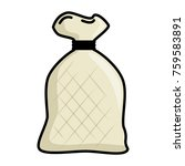 flour bag isolated icon | Shutterstock .eps vector #759583891