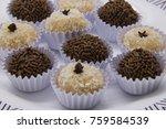 traditional brazilian sweet ... | Shutterstock . vector #759584539