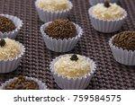 traditional brazilian sweet ... | Shutterstock . vector #759584575