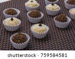 traditional brazilian sweet ... | Shutterstock . vector #759584581