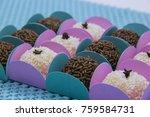 traditional brazilian sweet ... | Shutterstock . vector #759584731