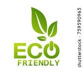 eco friendly vector | Shutterstock .eps vector #759590965