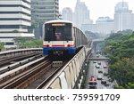bangkok   april 29  the bangkok ... | Shutterstock . vector #759591709