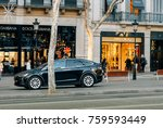 barcelona  spain   nov 13  2017 ... | Shutterstock . vector #759593449