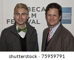 Small photo of NEW YORK - APRIL 25: Benji Kohn and Bingo Gubelmann attend premiere of the movie 'Detachment' during the 2011 Tribeca Film Festival on April 25, 2011 in New York CIty