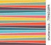 multicolor horizon line... | Shutterstock .eps vector #759601894