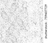 grunge black and white pattern. ... | Shutterstock . vector #759607729