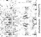 grunge black and white pattern. ... | Shutterstock . vector #759631771