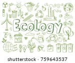 hand drawn design vector... | Shutterstock .eps vector #759643537