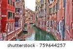 Majestic Canals In Venice  And...