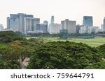 city park background | Shutterstock . vector #759644791