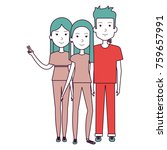 group of persons avatars... | Shutterstock .eps vector #759657991
