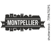 montpellier france europe... | Shutterstock .eps vector #759670291