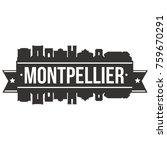 montpellier france europe...   Shutterstock .eps vector #759670291