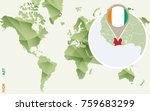 infographic for ivory coast ... | Shutterstock .eps vector #759683299