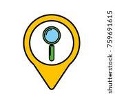 search social media round... | Shutterstock .eps vector #759691615